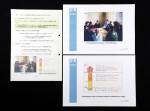 ベラルーシの「エートスプロジェクト」を紹介する内閣府の報告書(左)の写真や図は、政府の低線量有識者ワーキンググループの資料(右)と同一だった